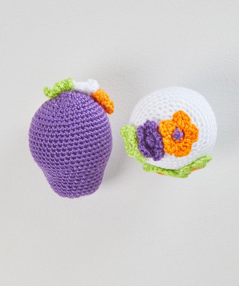 Free Pattern for Sweet Crochet Sugar Skulls.