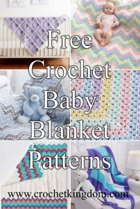 http://www.crochetkingdom.com/crochet-baby-blanket-patterns/