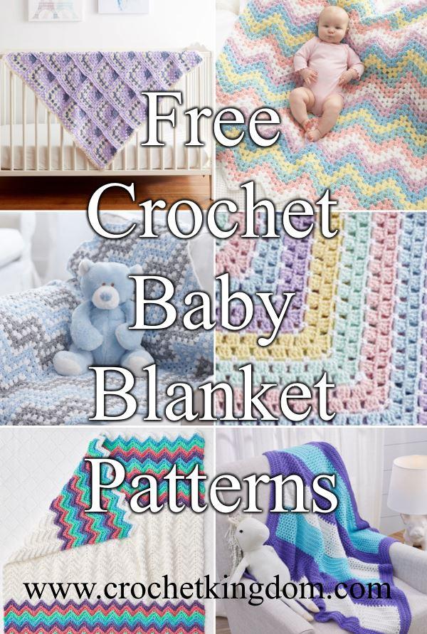 Free Crochet Baby Blanket Patterns