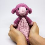 Free Crochet Pattern for Bobby the Sheep Blankie for Little Ones