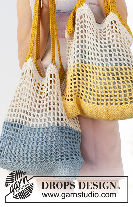 Free Crochet Pattern for a Beach Bag