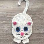 Free Crochet Pattern for a Cat Applique