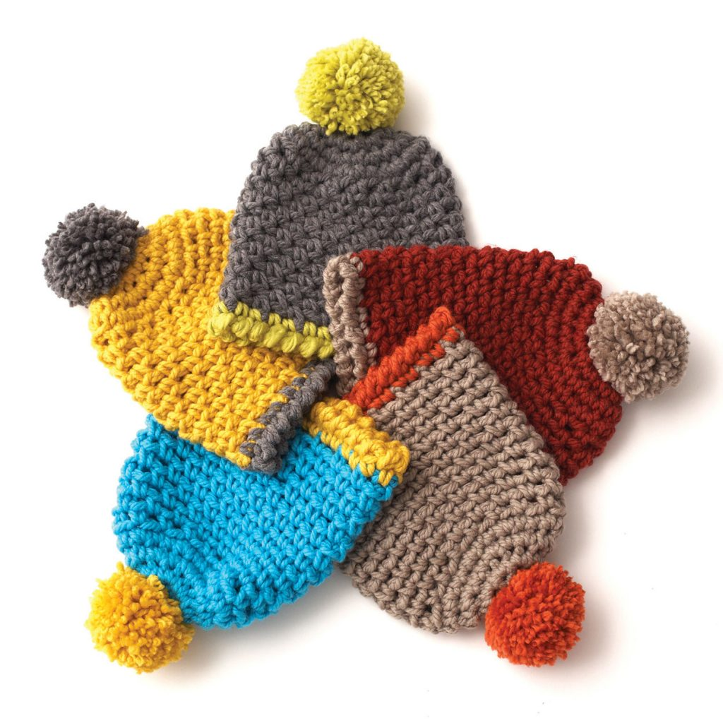 easy and free crochet hat patterns for kids