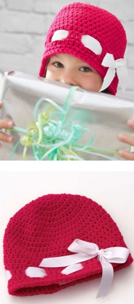 Free Crochet Hat Pattern for Girls
