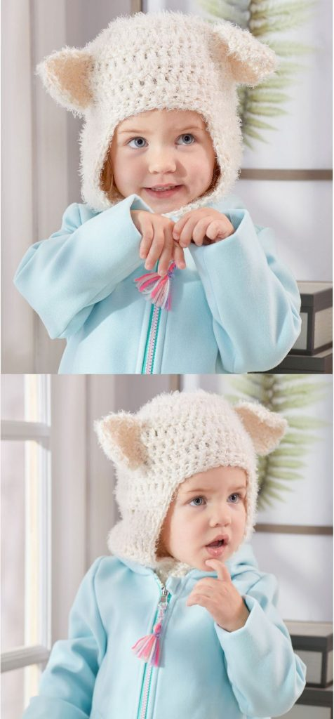 Free Crochet Hat Patterns for Children Balaclava Hood