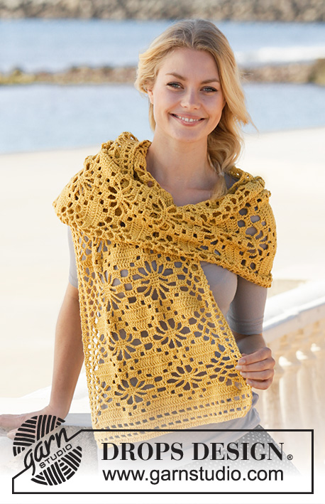 Free Crochet Pattern for a Butterfly Migration Wrap