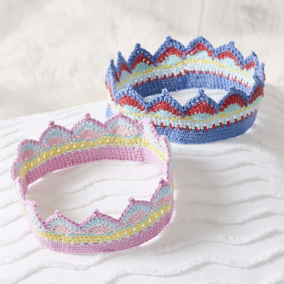 Free Pattern for Crochet Crowns