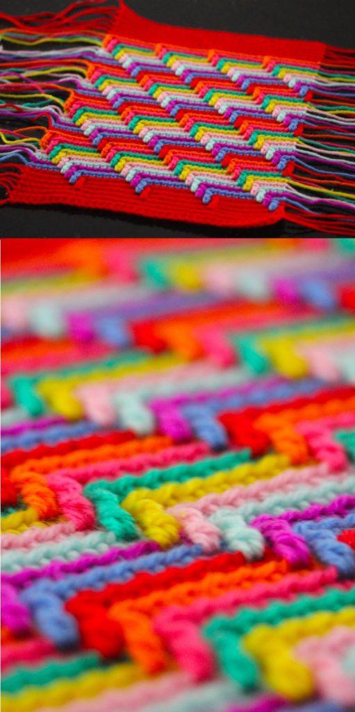 Stash Buster Crochet Blanket Pattern Ideas Aache Tears