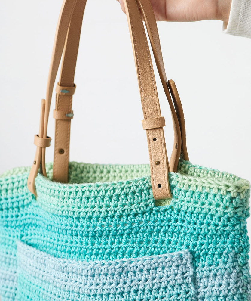 Free Crochet Pattern for a Beginner's Tote