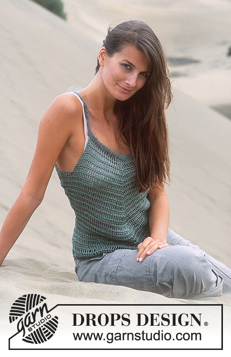 Free Crochet Pattern for a Summer Camisole
