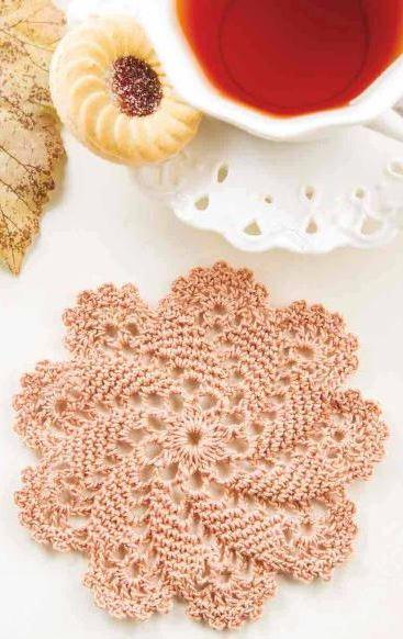 Pinwheel Coaster Crochet Pattern