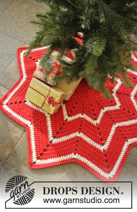 Free crochet rug star pattern