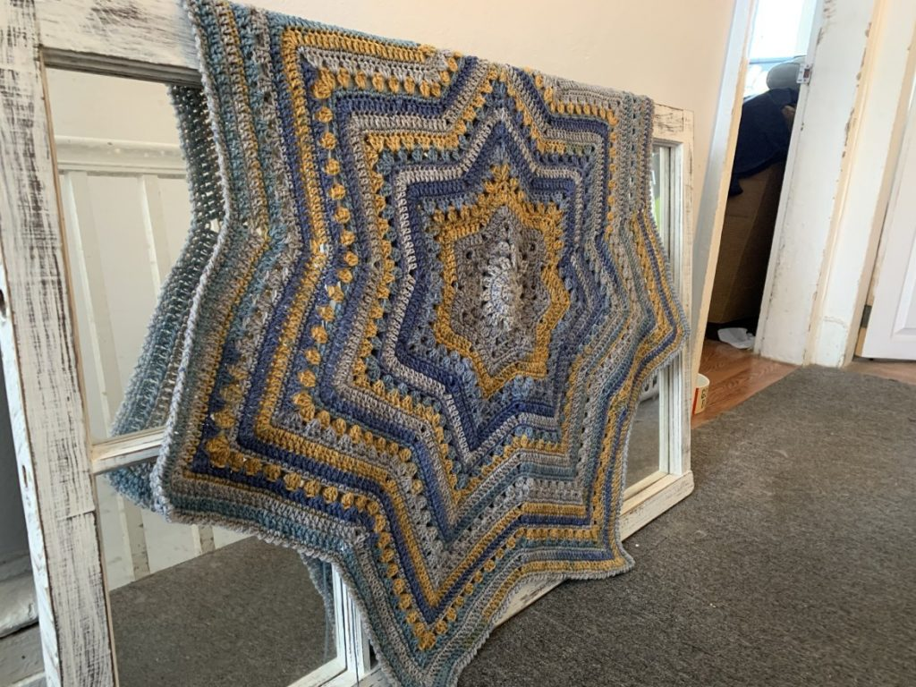 6 day star blanket crochet pattern