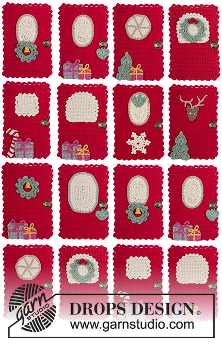 Advent Calendar Doors Free Crochet Pattern