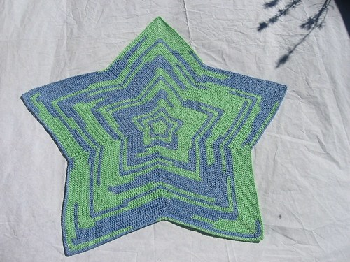 Chromium Star Blanket crochet pattern