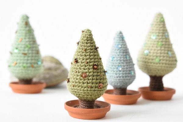 Free crochet tree for Xmas