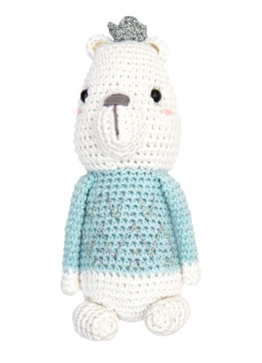 Crochet pattern for a Christmas polar bear free