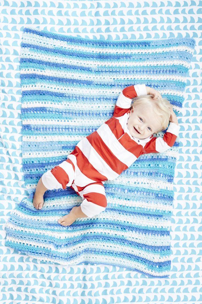 Crolla Baby Blankie Crochet Pattern