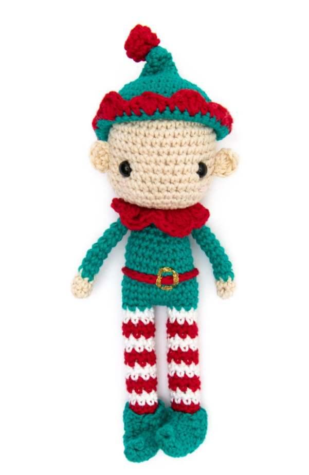 Elf amigurumi Christmas pattern