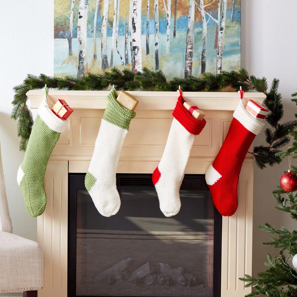 Free crochet Christmas stocking