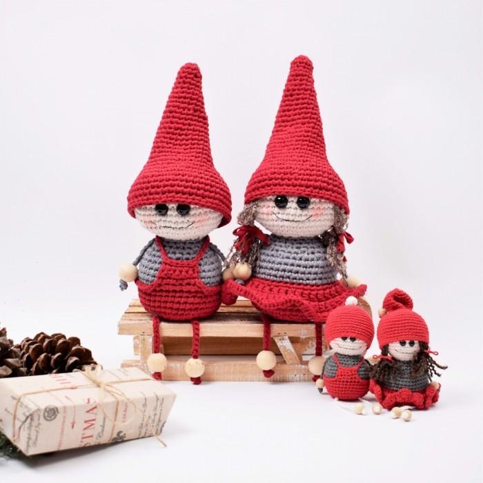 Free crochet elf amigurumi pattern