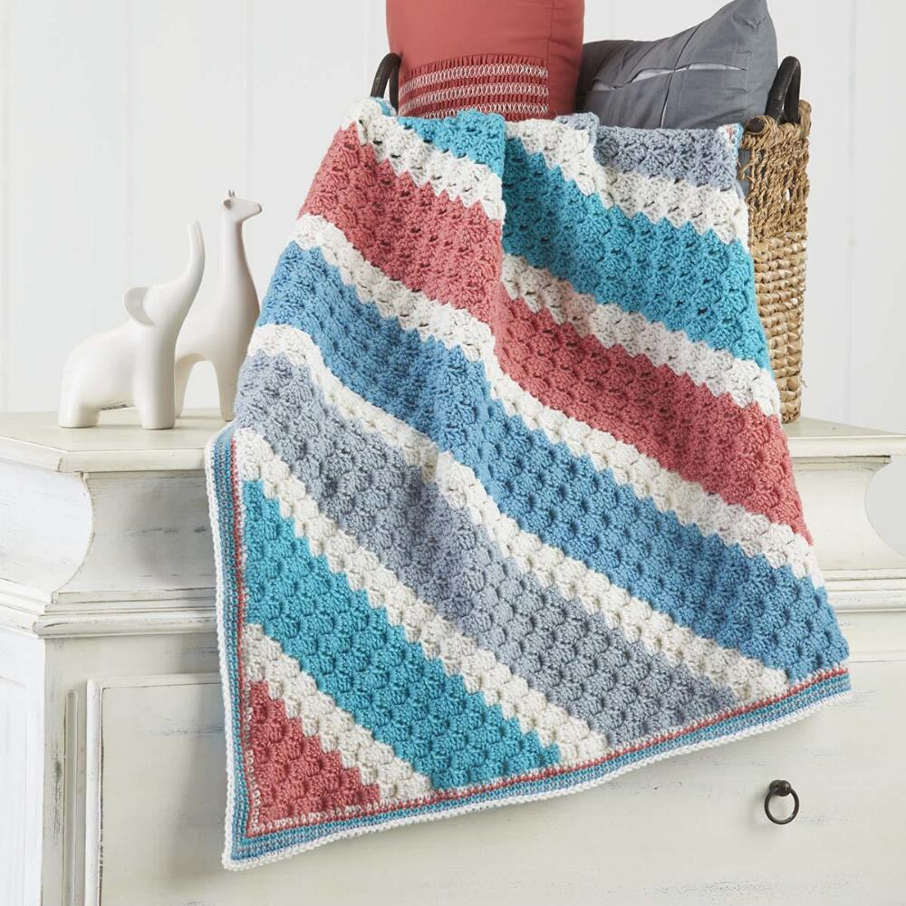 Georgia baby blanket free download crochet pattern
