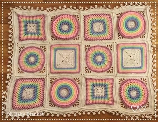Oh baby blanket crochet pattern