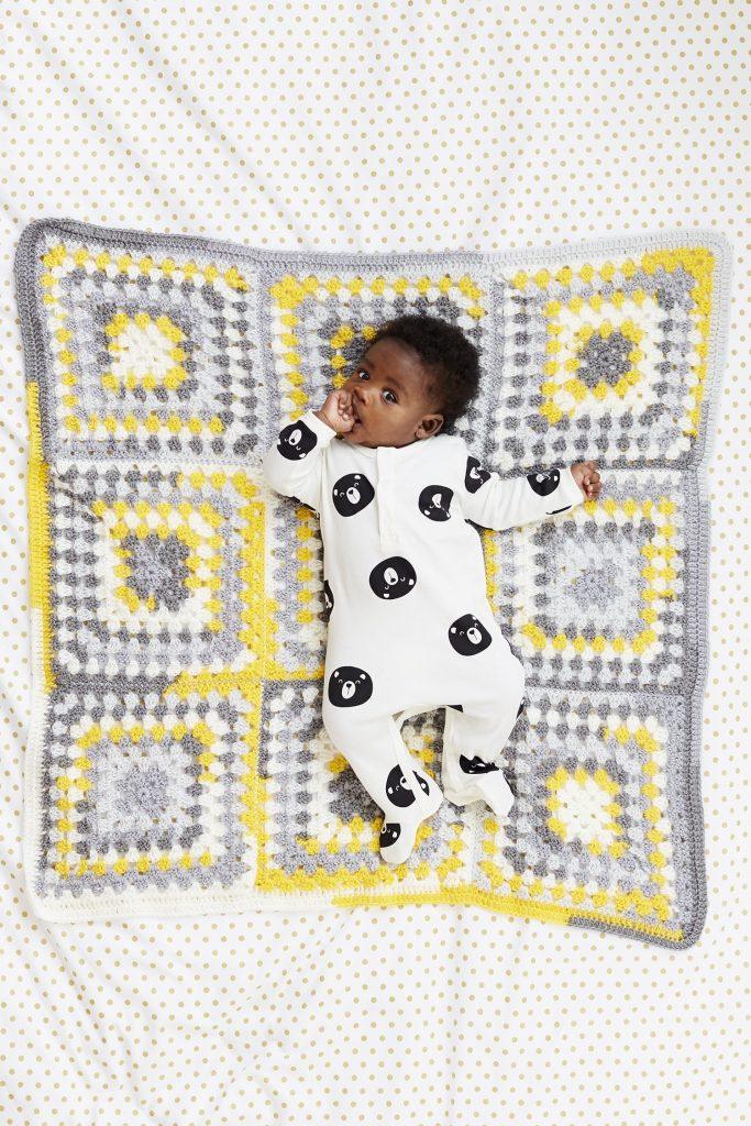 Springdale Granny Baby Afghan pattern
