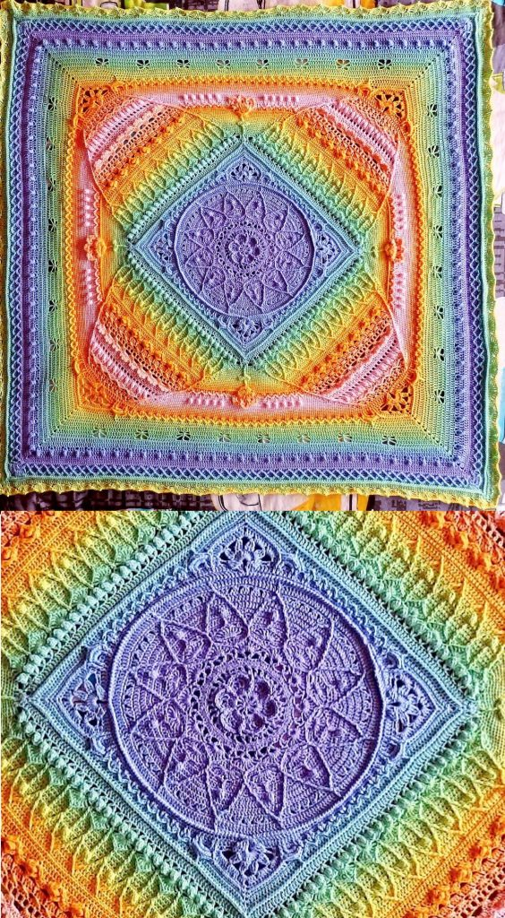 Sophies Universe Free crochet cal pattern