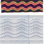 Wave Ripple Crochet Stitch