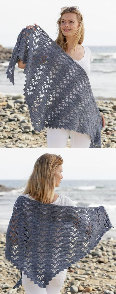 Easy Lace Crochet Shawl Patterns Free