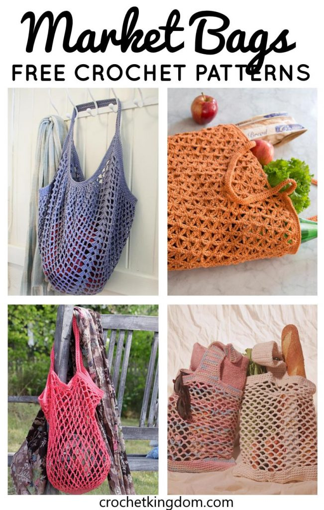 Free Crochet Farmer's Market Bag Pattern