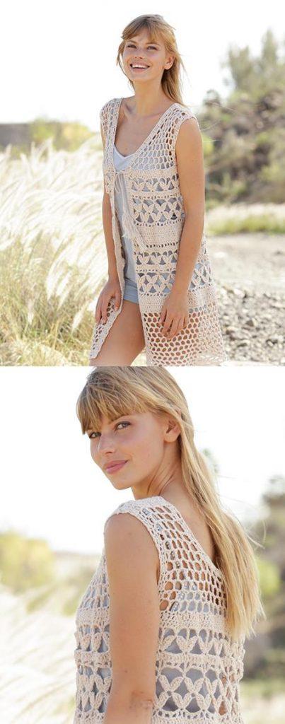 Free Crochet Patterns for Summer Vests