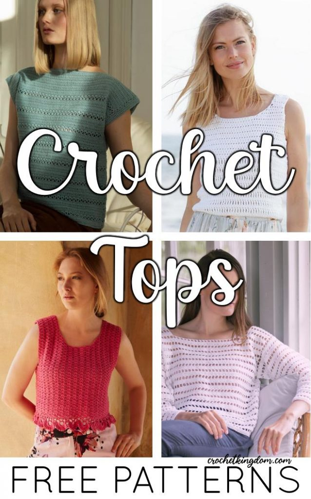 Free Crochet Patterns for Women's Tops