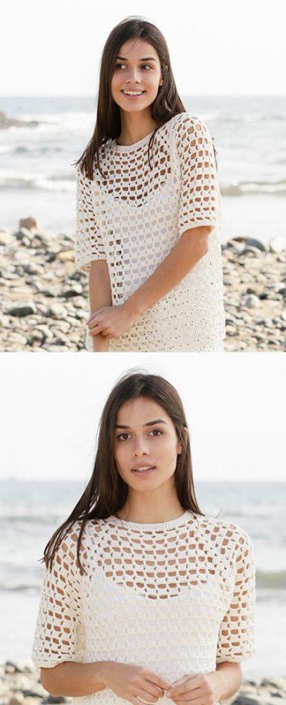 Free Crochet Patterns for openwork top women