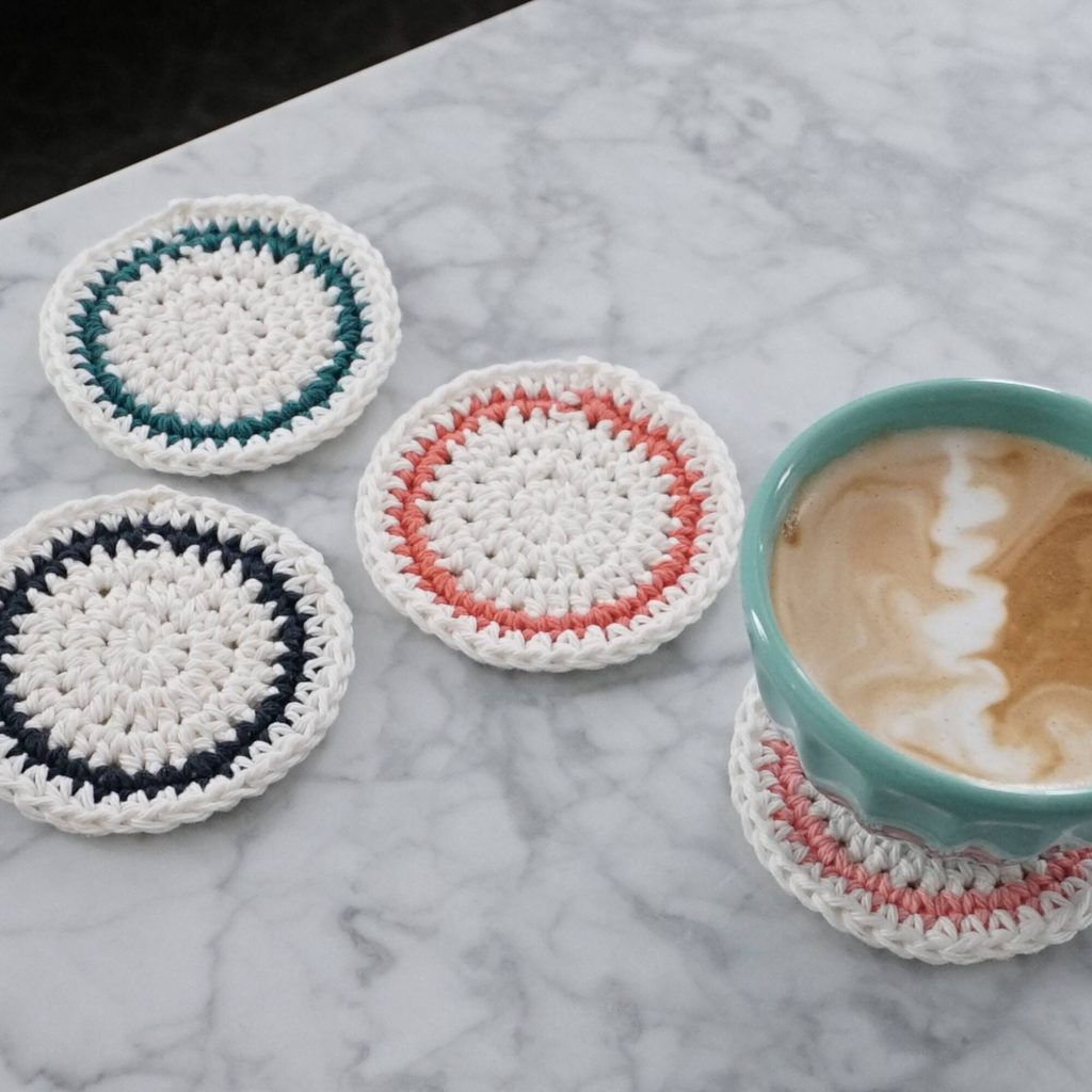 Free crochet coasted pattern for beginners