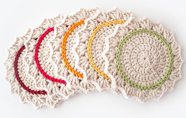 Free crochet coaster set pattern