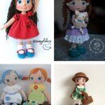 Free crochet patterns for aminurumi dolls