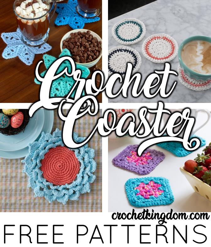 Free crochet patterns for coasters