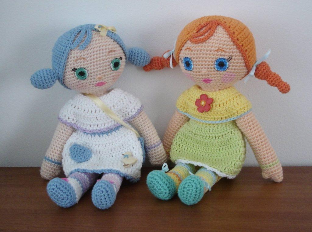 Free rag doll crochet pattern