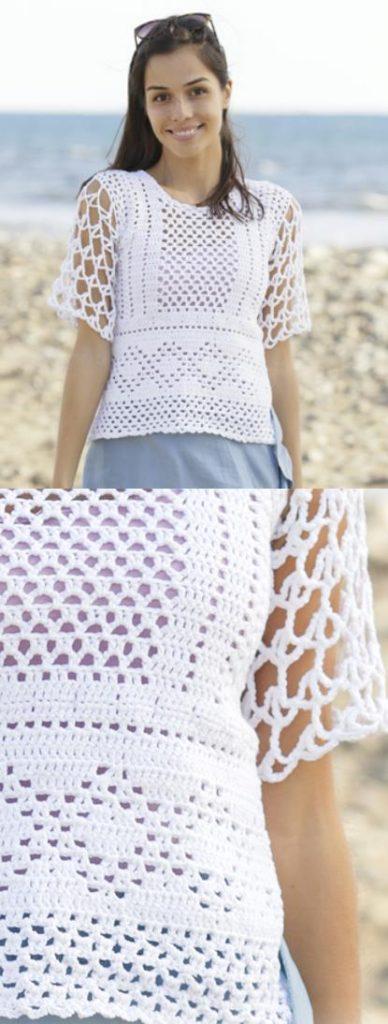 boho crochet top pattern free