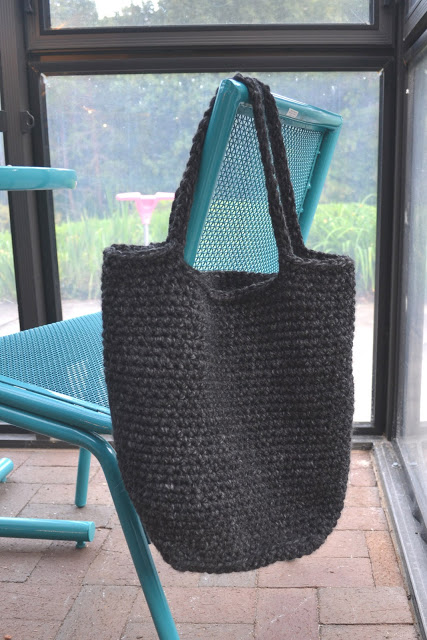 Chunky crochet tote pattern