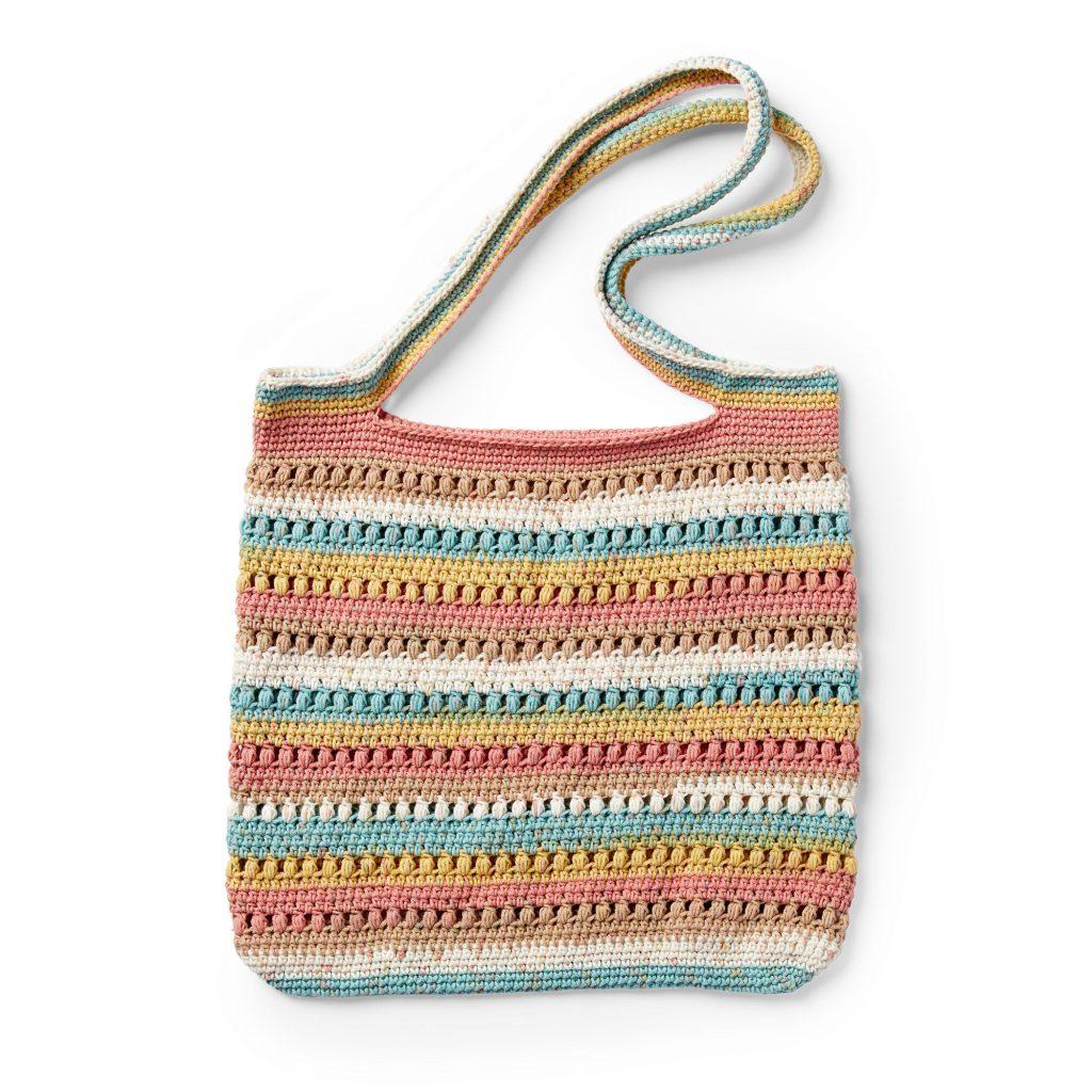 Free crochet tote pattern in cotton