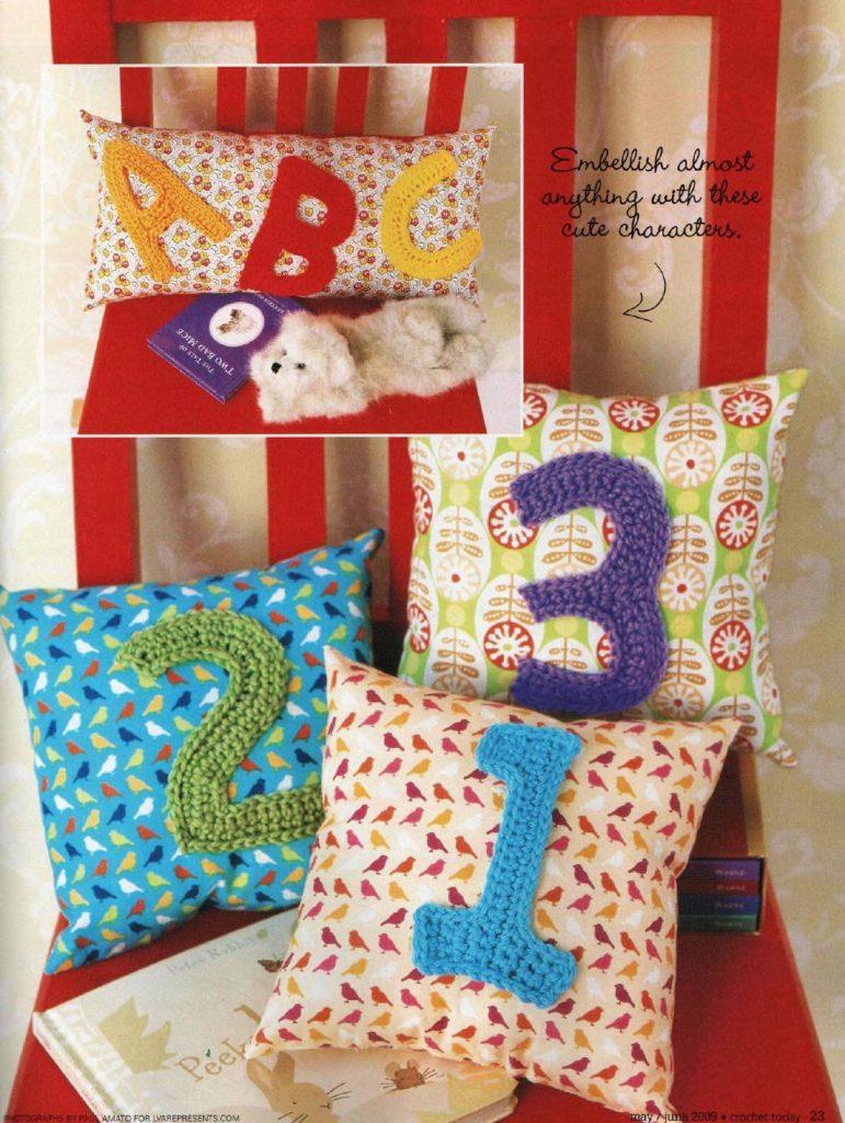 abc 123 crochet pattern