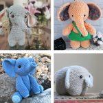 Free Amigurumi Elephant Crochet Patterns