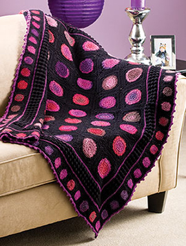 Contemporary crochet afghan free pattern