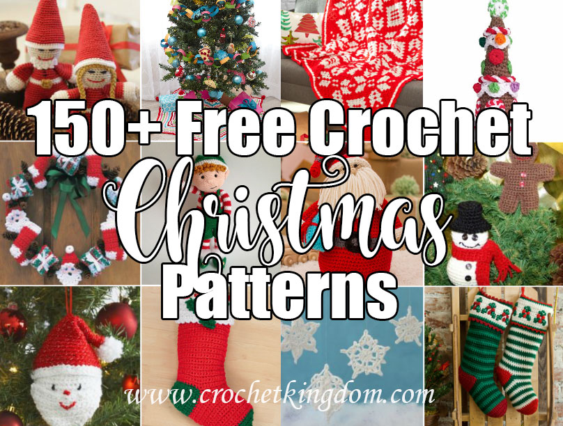 free crochet pattern for Christmas