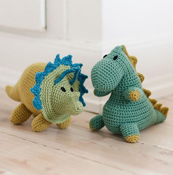 Free Crochet Patterns for Dinosaurs