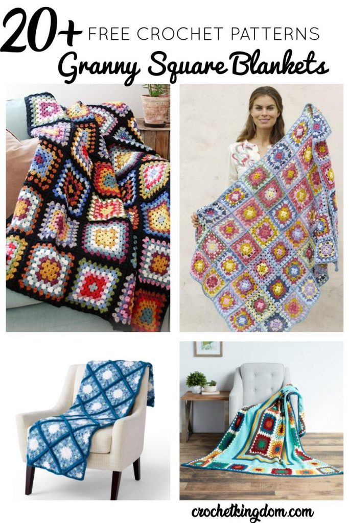 Free Granny Square Blanket Patterns to Crochet