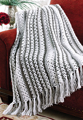 Quick free crochet afghan pattern